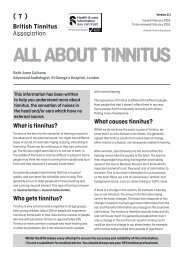 All about tinnitus Ver 2.1