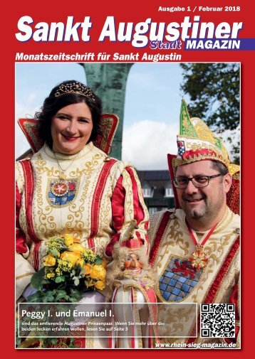 Sankt Augustiner Stadtmagazin Januar 2018