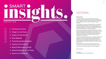 Smart Insights February Edition