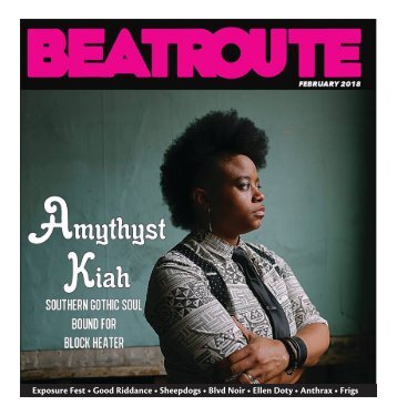 BeatRoute Magazine [AB] print e-edition - [February 2018]