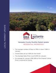 Market Report January 2018 - Hampden County