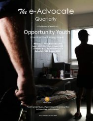 Opportunity Youth: Disenfranchised Young People