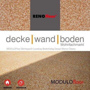 RenoFloor MODULOFloor Marmor Classic