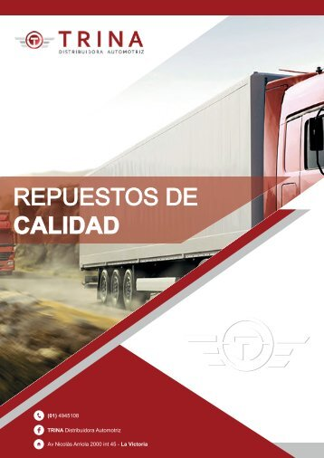 Catálogo TRINA Distribuidora Automotriz