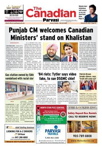 The Canadian Parvasi - Issue 31