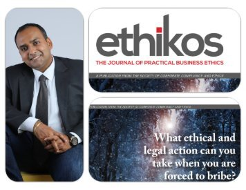 What ethical and legal action can you take when you are forced to bribe?  by Robin Singh