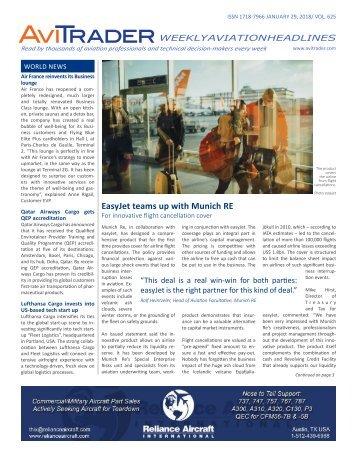 AviTrader Weekly News 2018-01-29