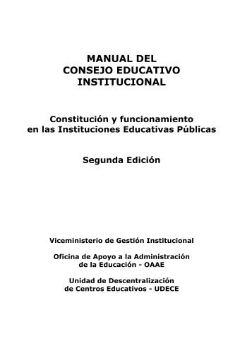 MANUAL DEL CONEI de IIEE.