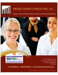 2016-2017 Training and Management Catalog_Projections Consulting Inc