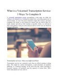 What is a Voicemail Transcription Service: 3 Ways to Complete It - Page 2