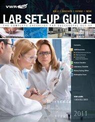 New Lab Set-Ups - Finance