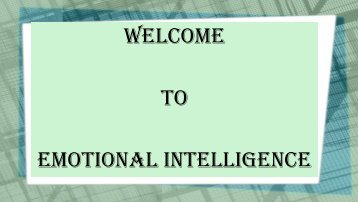 Emotional intelligence in management