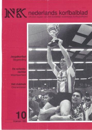 Nederkands Korfbalblad NK 1993-10