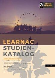 LEARNAC Studienkatalog gesamt