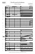 Rosner - Five Ko-ans for Orchestra, op. 65 - Page 5