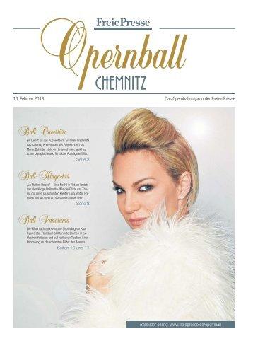 Die Opernballzeitung 2018