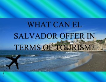 Tourism in El Salvador
