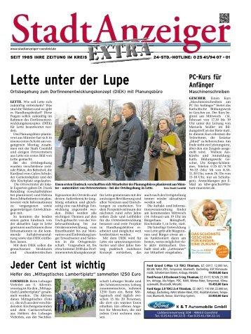 Stadtanzeiger Extra kw 6