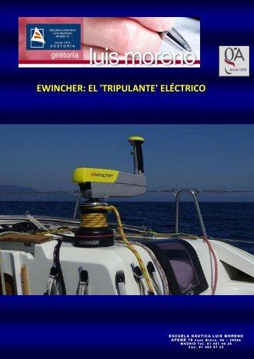 EWINCHER EL 'TRIPULANTE' ELÉCTRICO - Nauta360