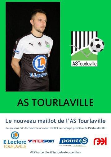 Le nouveau maillot de l'#ASTourlaville