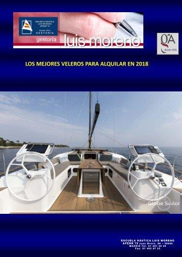 LOS MEJORES VELEROS PARA ALQUILAR EN 2018 - Nauta360