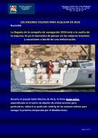 LOS MEJORES VELEROS PARA ALQUILAR EN 2018 - Nauta360 - Page 2