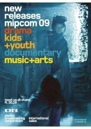 new releases mipcom 09 drama kids +youth documentary music+arts