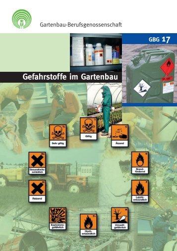 Gefahrstoffe im Gartenbau