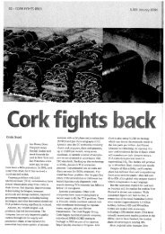Cork fights back - Amorim CorkFacts