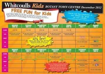 FREE FUN for Kids - Whitcoulls