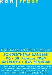 08. Februar 2004 BAYREUTH • DAS ZENTRUM - Kontrast