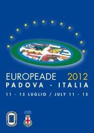 places of performances lieux des spectacles - Comune di Padova