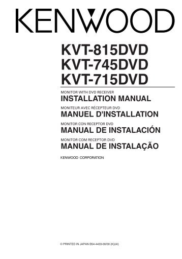 Wire Harness Kenwood Kvt 516 - Wiring Diagrams List on
