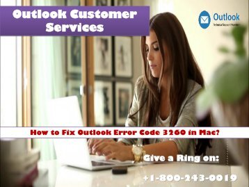 18002430019 Fix Outlook error code 3260 in Mac