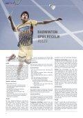 VICTOR Badmintonlektüre  / Badminton manual  - Page 6