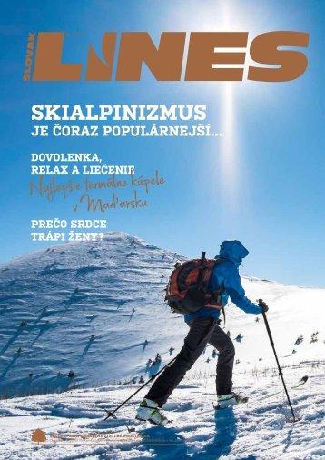 Slovak Lines Magazín 1/2018