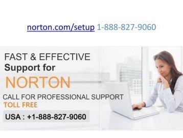 Norton setup 1-888-827-9060