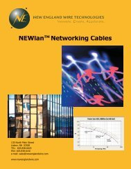 NEWlan Category-6 Premium - New England Electric Wire ...