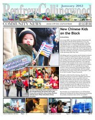New Chinese Kids on the Block - Collingwood Neighbourhood House