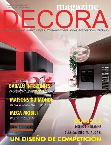 Decora Magazine Septiembre 2017