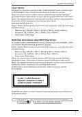Sony VPCEB3B4R - VPCEB3B4R Documents de garantie Turc - Page 7