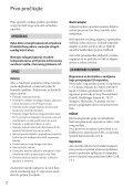 Sony DCR-SX53E - DCR-SX53E Mode d'emploi Croate - Page 2