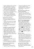 Sony DCR-SX53E - DCR-SX53E Consignes d'utilisation Danois - Page 3