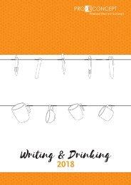 Writing und Drinking 2018