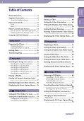 Sony NWZ-E435F - NWZ-E435F Consignes d'utilisation Anglais - Page 4