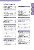 Sony NWZ-E435F - NWZ-E435F Consignes d'utilisation Danois - Page 4