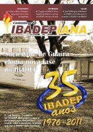 Comunicação Ibadepiana - 01ª Edição