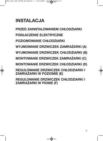 KitchenAid 20RU-D1 A+ SF - 20RU-D1 A+ SF PL (858641011000) Installazione