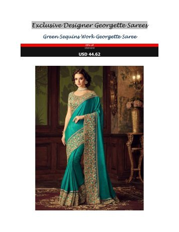 Exclusive_Designer_Georgette_Sarees
