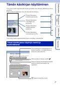 Sony NEX-C3A - NEX-C3A Consignes d'utilisation Finlandais - Page 2